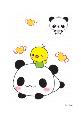 Giant panda Red panda Cartoon Drawing