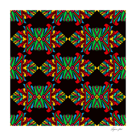 seamless pattern with indian ethnic elements