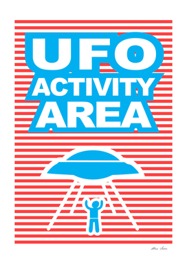 UFO Activity Area, Playing With Stripes series,