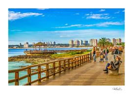 Punta del Este Boardwalk, Uruguay