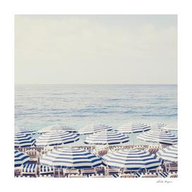 Beach Umbrella's of the French Riviera