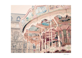 Paris Carousel Print
