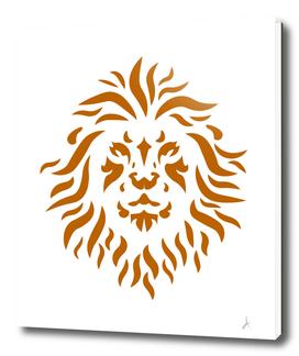 Golden lion lineart