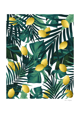 Tropical Lemon Twist Jungle #1 #tropical #decor #art