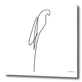 buddy - one line art