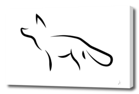 Minimalistic fox