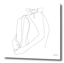 SACRAMENT - single line art