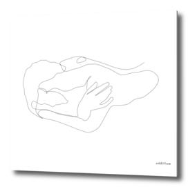 SENSE - single line art