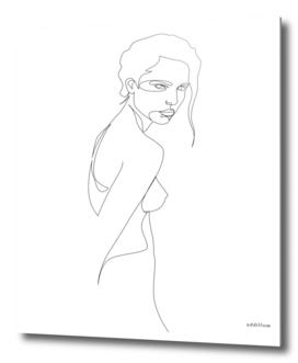 MUSE - single line art