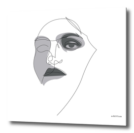 NOIR - single line art