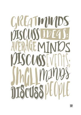 Great Minds Discuss Ideas - Motivation