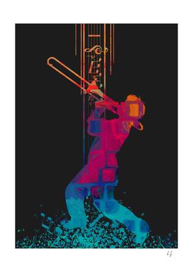 I love Music - Trombone