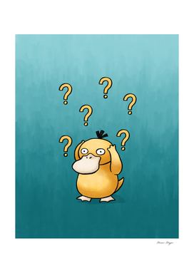 Psyduck confused