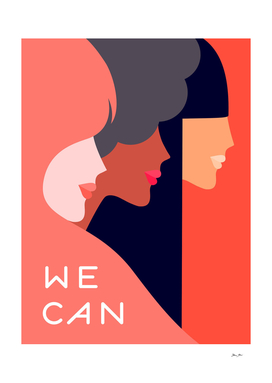 Together, we can - International Women's day