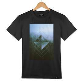Mist Over The Dolomites Geometric