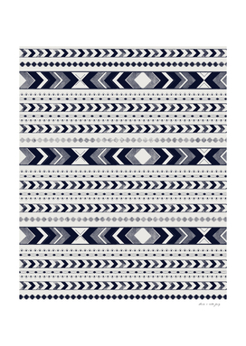 Tribal Arrow Boho Pattern #3 #aztec #decor #art