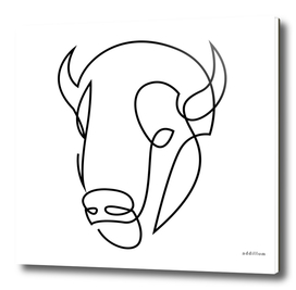 antiquity - one line bull art