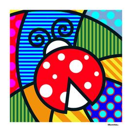 Lucky Ladybug SQuare
