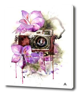flower camera