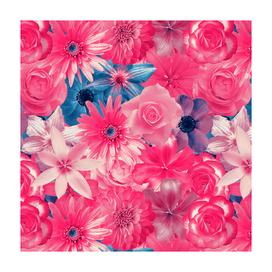 Cute Girl Flowery - Vintage Enchanted Flowers V.2