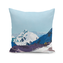 White and Blue Hills