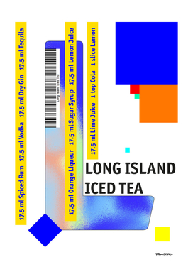 "Cocktail 'L"" - Long Island Iced Tea"