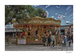 Carousel in London copy