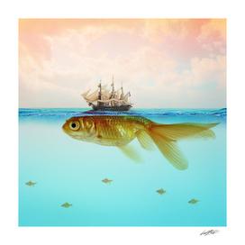 Goldfish Submarine