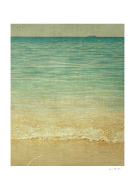 Seascape Vertical Vintage
