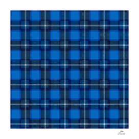 Scottish Tartan Blue