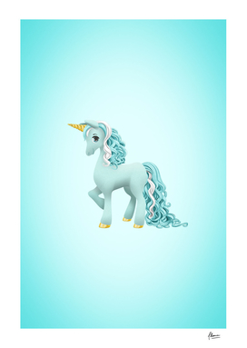 "Unicorn ""Shiny Snowflake"""
