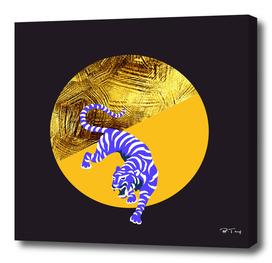 blue tiger