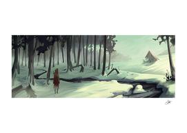 Little Red Riding Hood the monster hunter