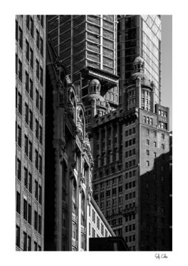 Skyscrapers in Lower Manhattan New York City