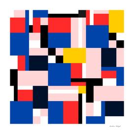 Colorful Geometric Print