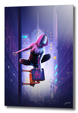 Gwen into the Spider-Verse