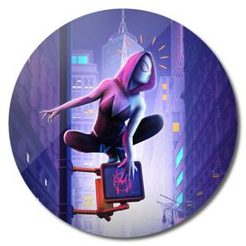 Gwen into the Spider-Verse