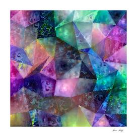 Vivid Abstract Geometric Figures