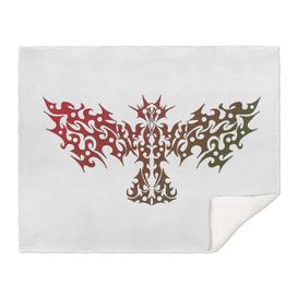 Dragonbird Tattoo colored