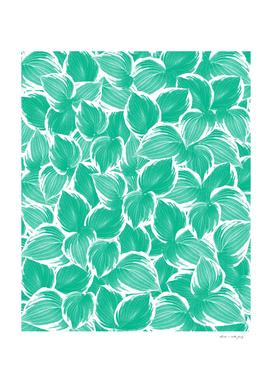 Summer Green Leaves Dream #1 #tropical #decor #art