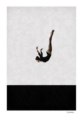 Dancer's dive ...