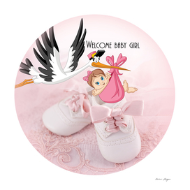 Welcome baby girl copy