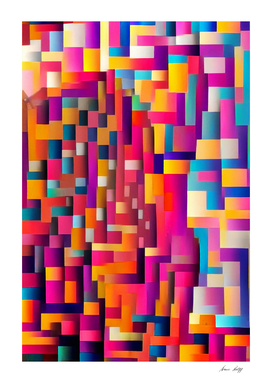 Geometric Abstract Painting