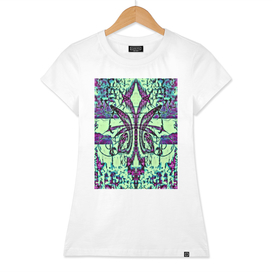 Jardin Fleur de Lis Paris Abstract Print