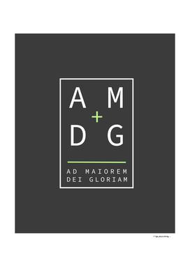 Jesuit motto AMDG
