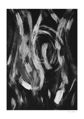 Brushstrokes Abstract Minimalism #2 #minimal #decor #art