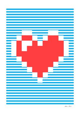 8 Bits Heart