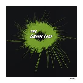 Green Leaf Screentone