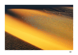 Beautiful Abstract Sand Dunes