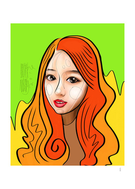 Orange girl Part 2